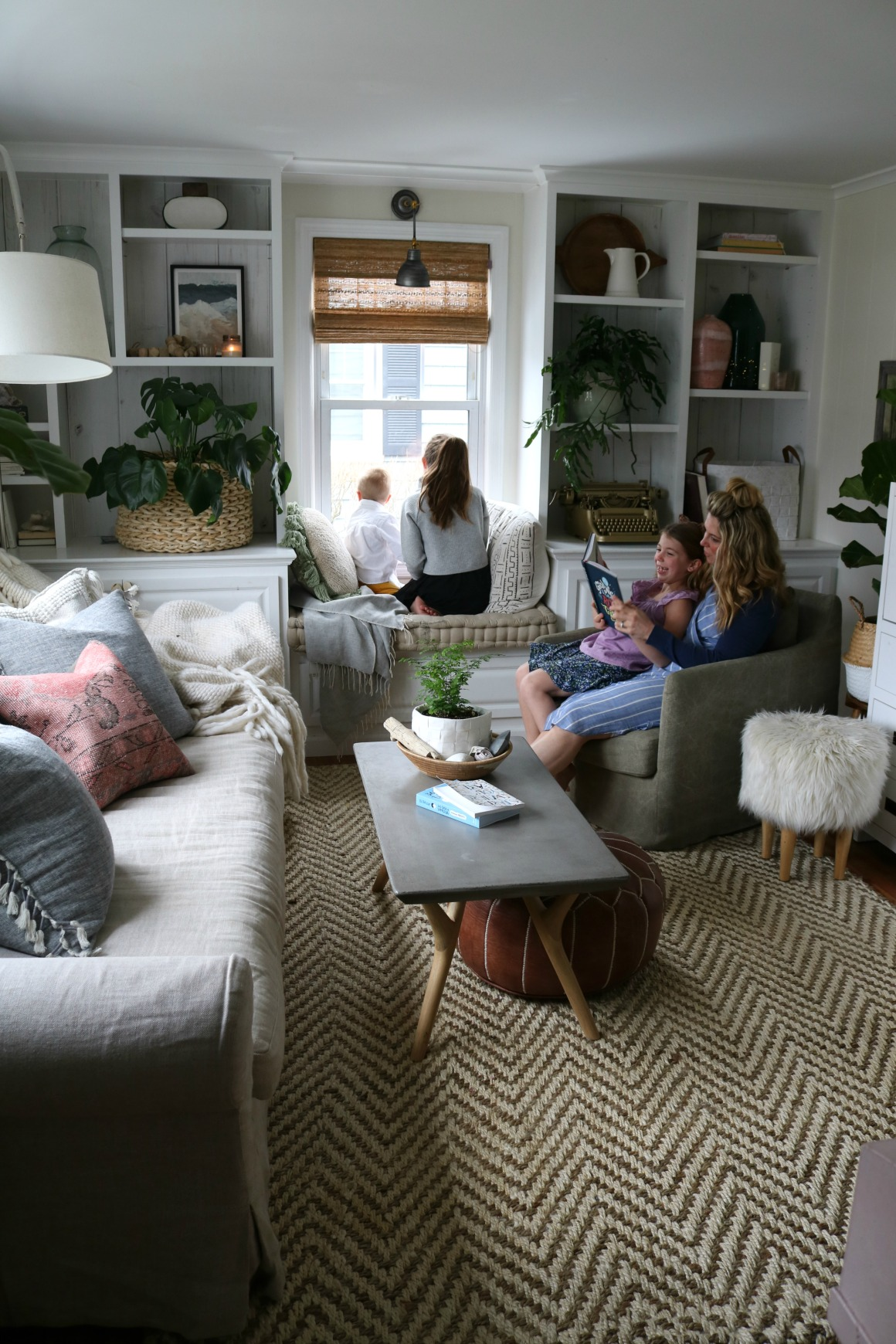 Small Space Family Room- Casual Living