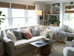 Simple thing you can do to give your sofa a new look!
