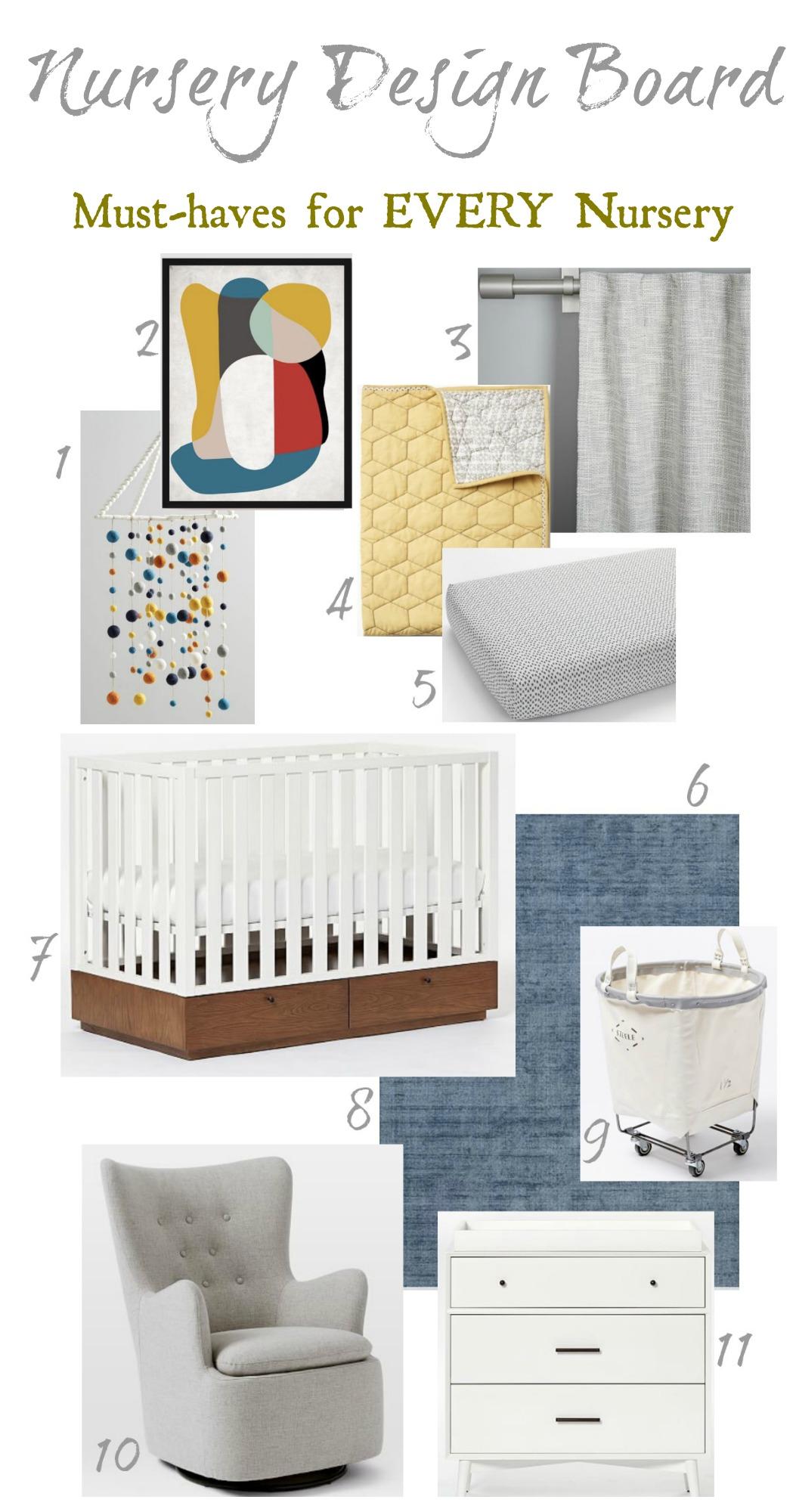 Nursery Must-Haves Design Inspiration
