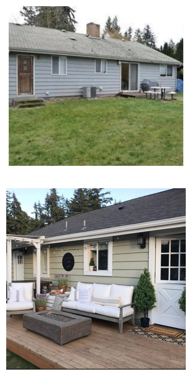 Before and After- Backyard Space Makeover