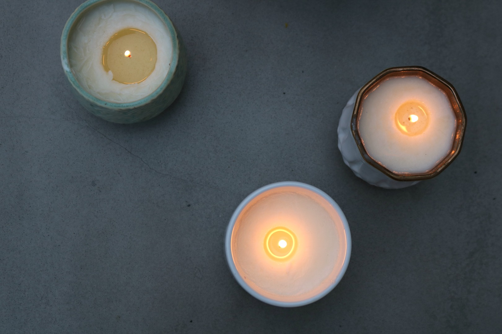 How to make Natural Candles- The EASY way!