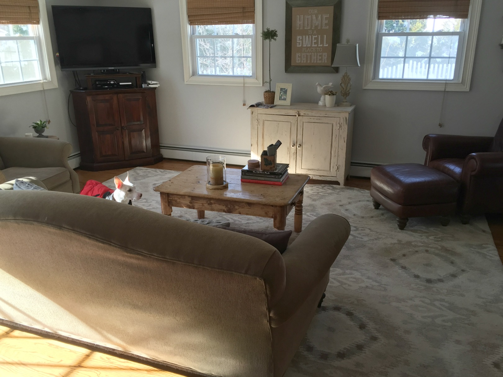 BEFORE Family Room- See the AFTER!
