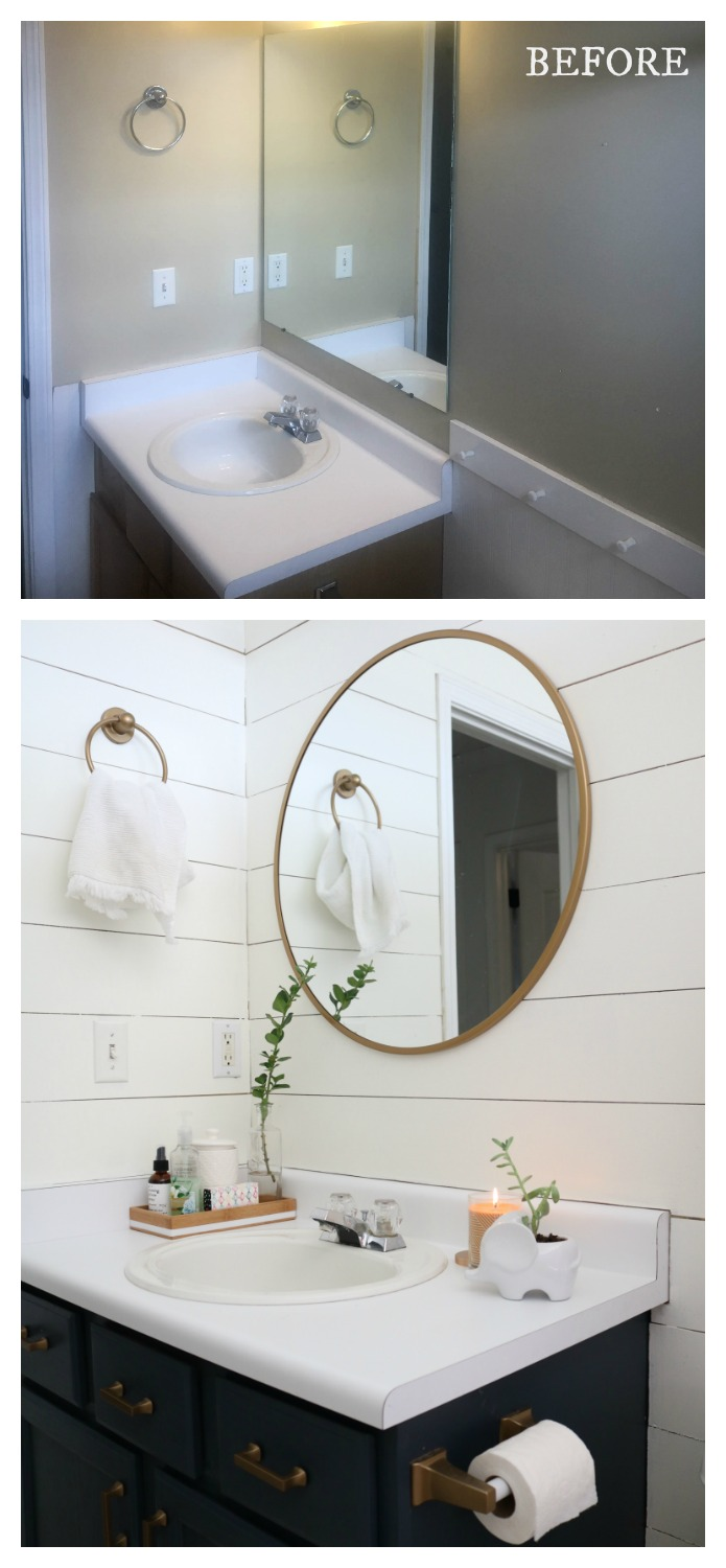 20 Bathroom Makeovers- Before and After