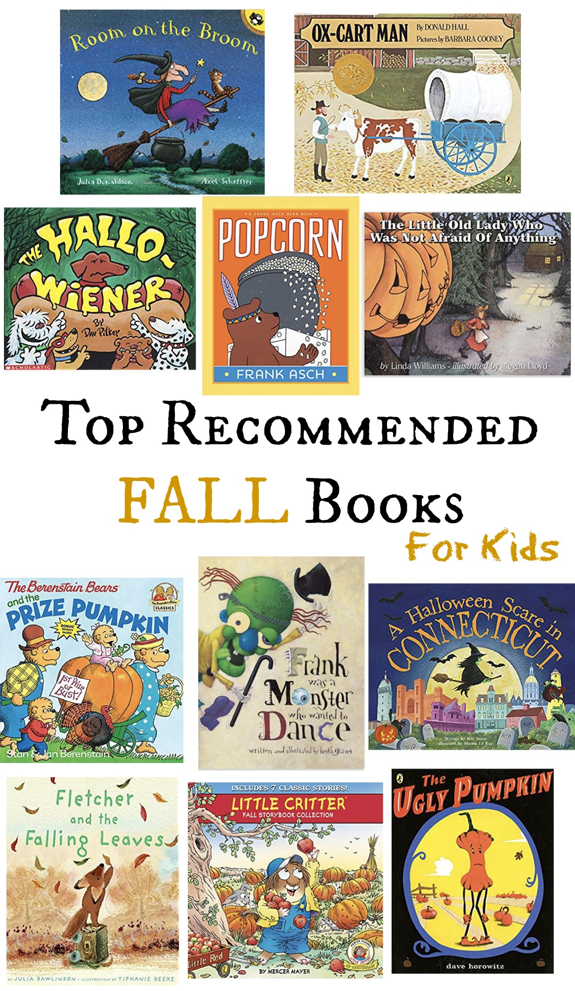 Fall Books for Kids- Top Recommended