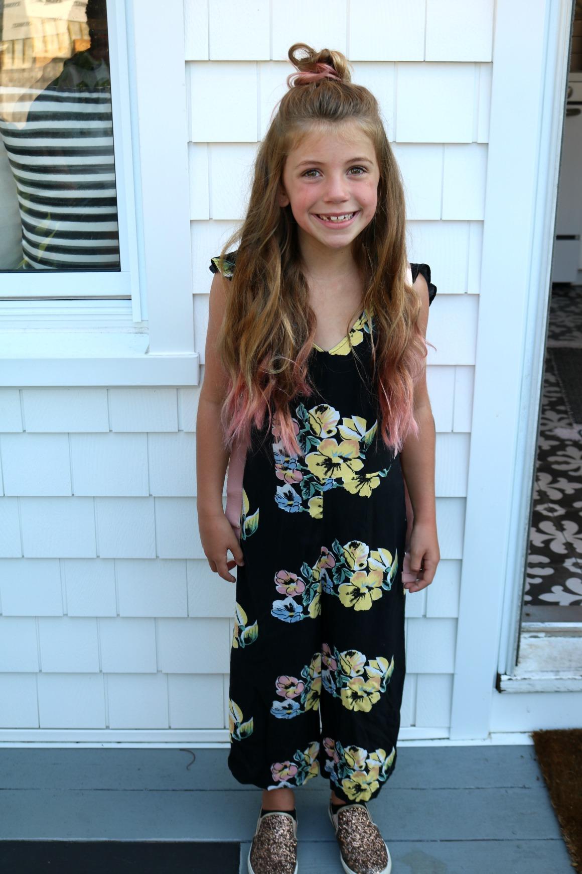 Friday Favorites- Pink tips for girls hair