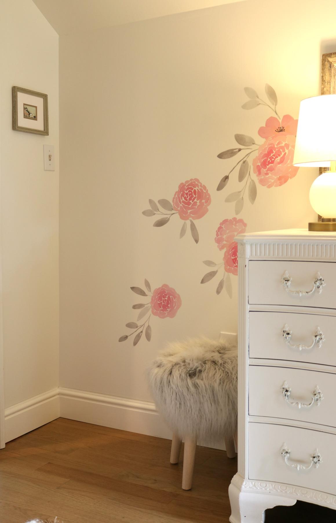 Affordable Girls Bedroom Makeover