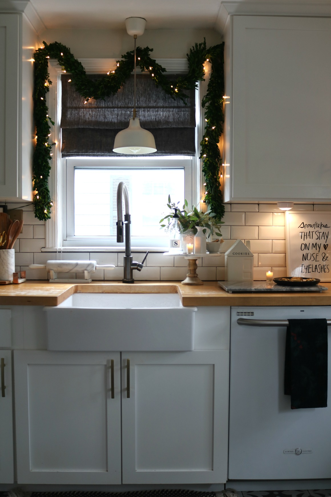 5 Ways To Create A Cozy Kitchen At Christmas Nesting With Grace