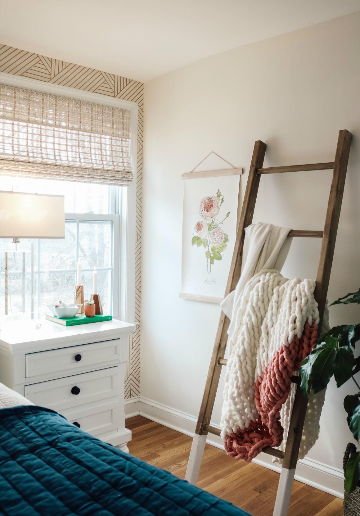 Dark Bedroom to Light and Bright