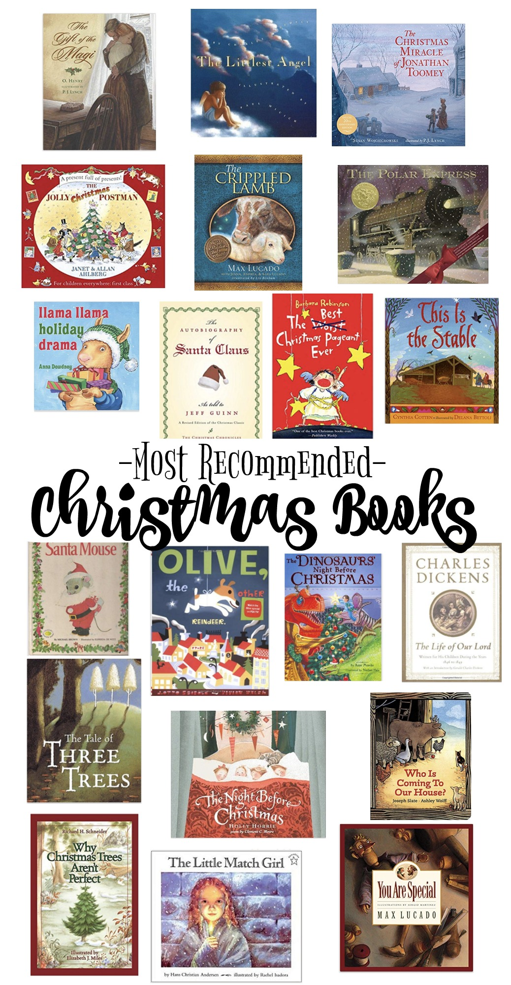 Most Recommended Christmas Books