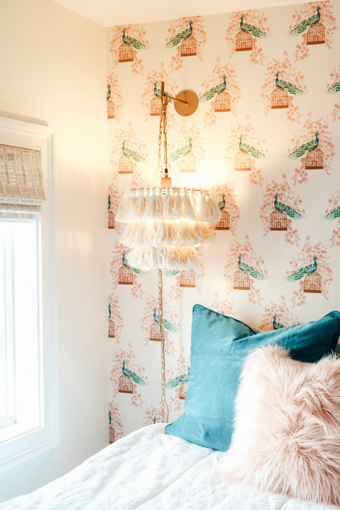 Girls Bedroom Thrifted and New Decor