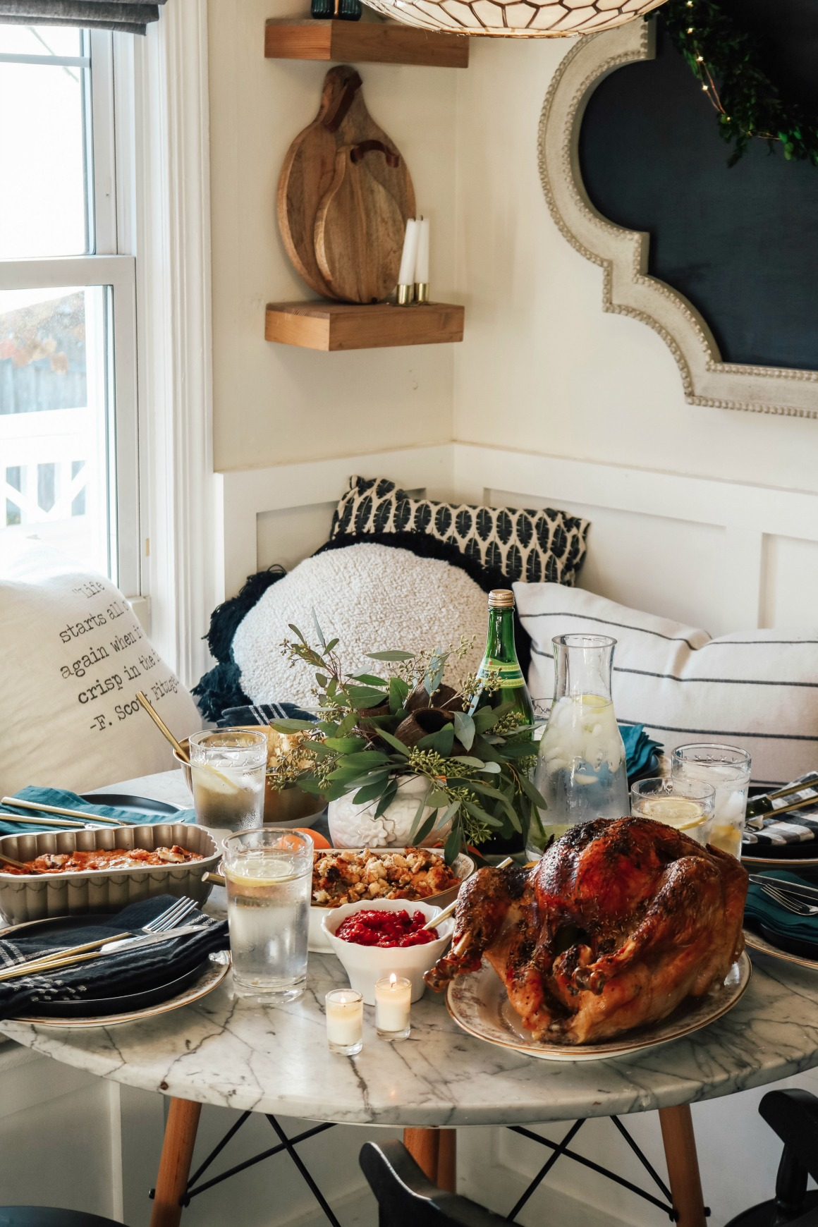 Thanksgiving in a Small Space