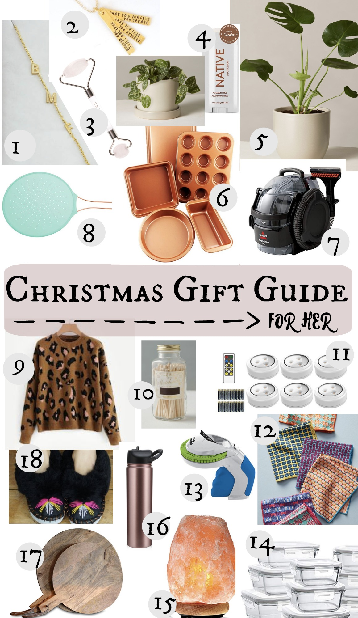 Christmas Gift Guide- For Her