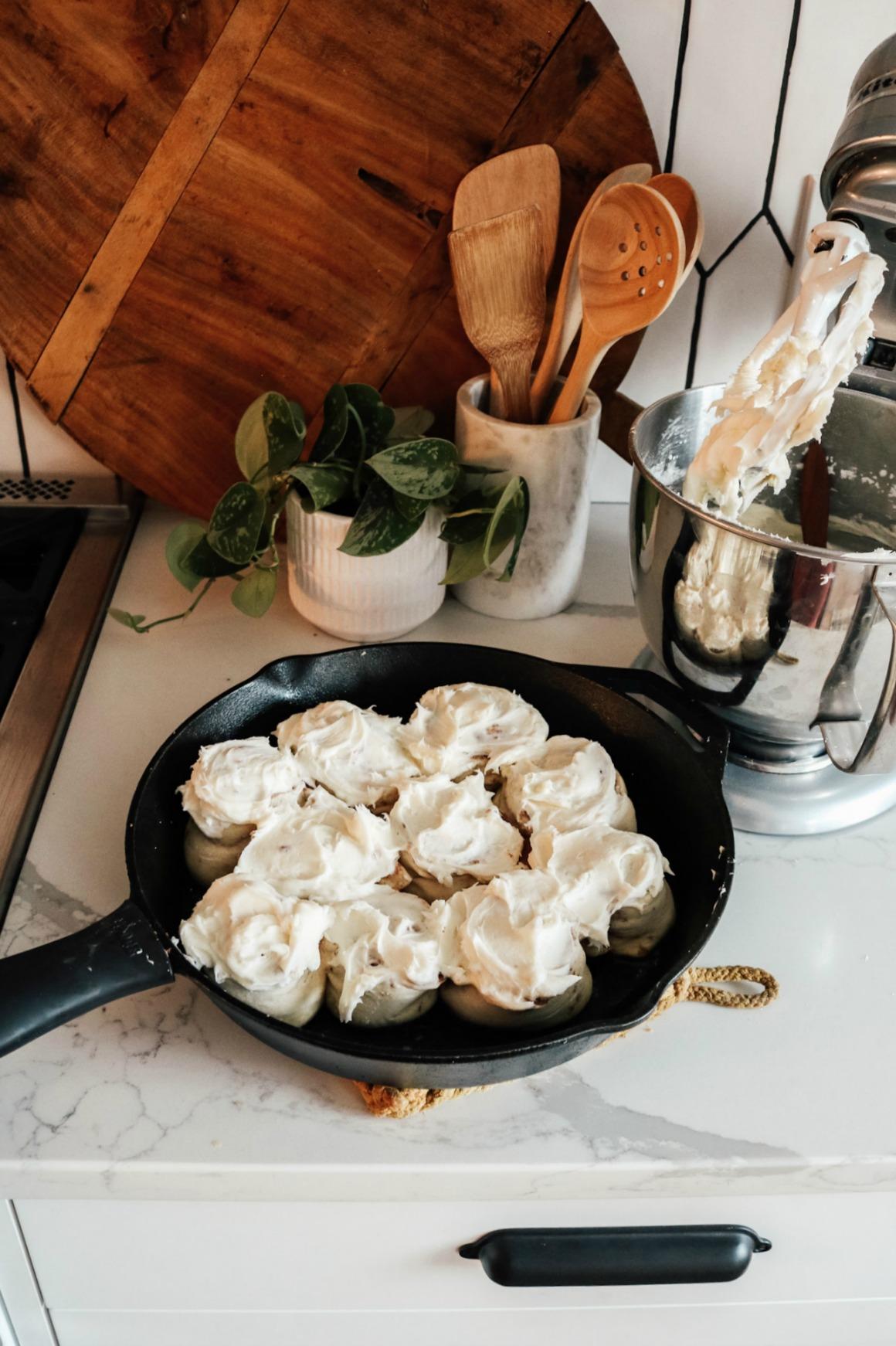 Cinnamon Roll Recipe with printable