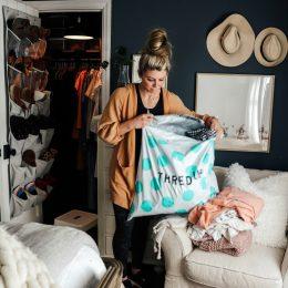 Marie Kondo- Organizing a Small Closet