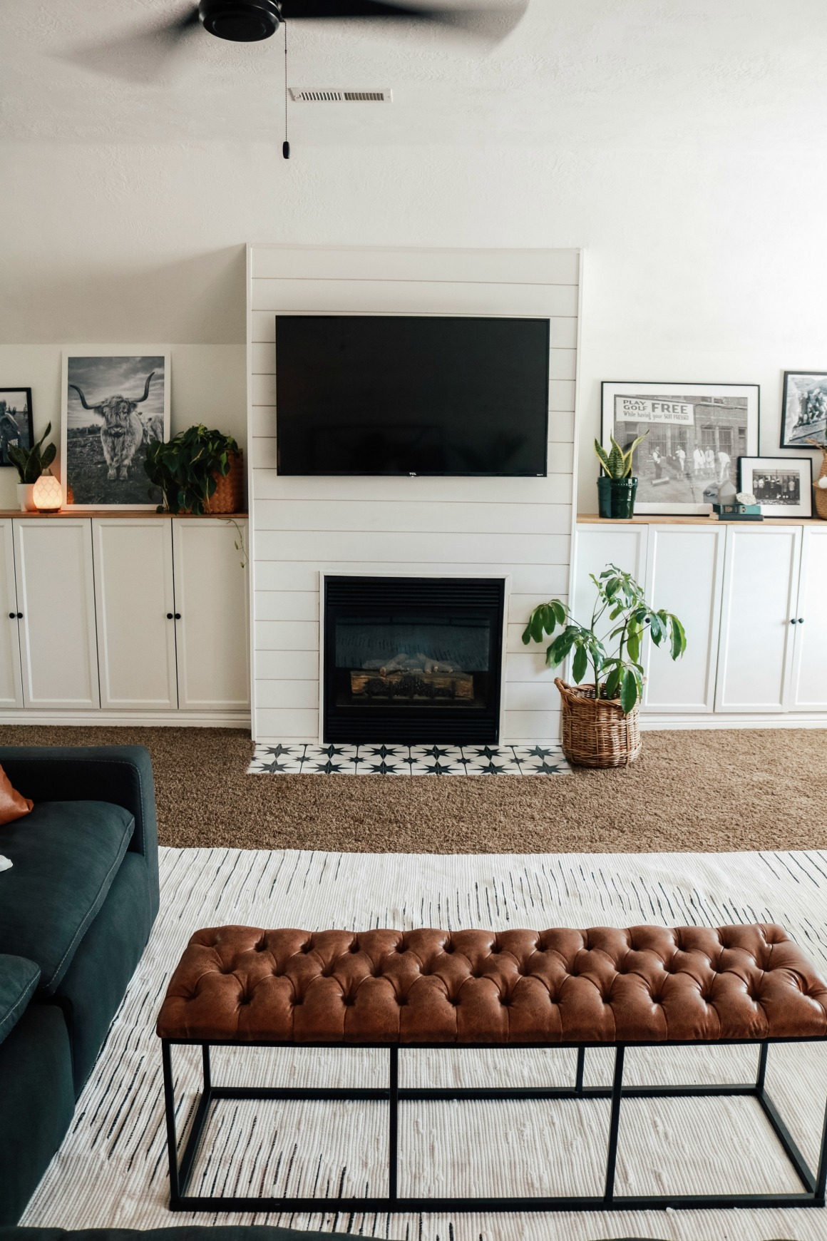 Large Family Room Makeover How To Not Get Overwhelmed