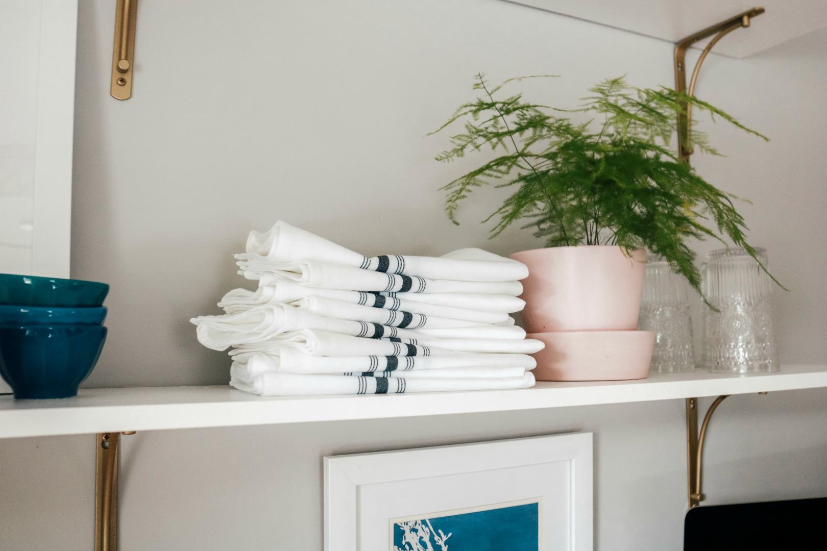 Kitchen Shelf Styling- Kitchen Shelves- Dining Room Styling Dining Room Shelves
