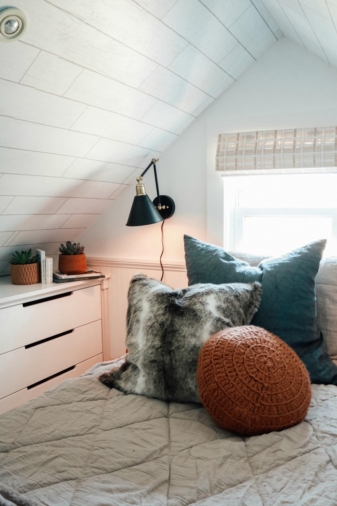 Dormer Ceiling- Boys Bedroom