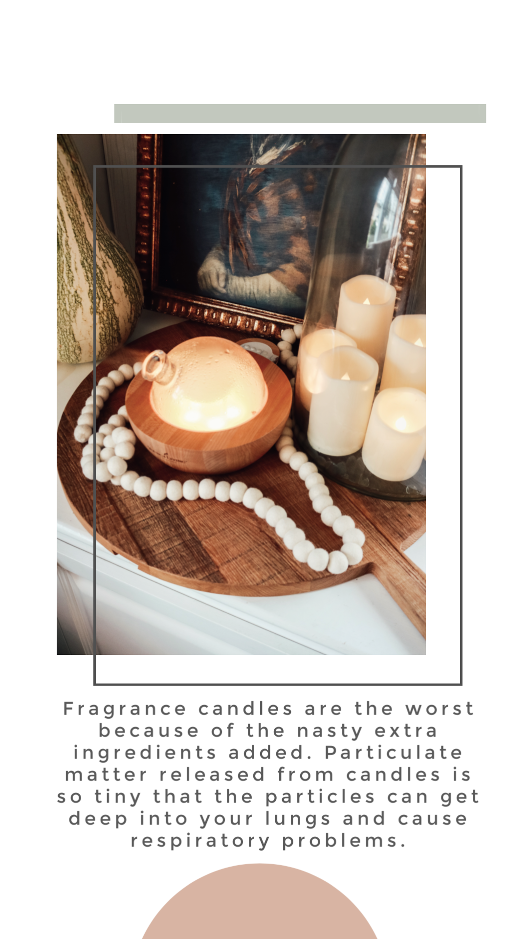 Are candles toxic? What to do instead!