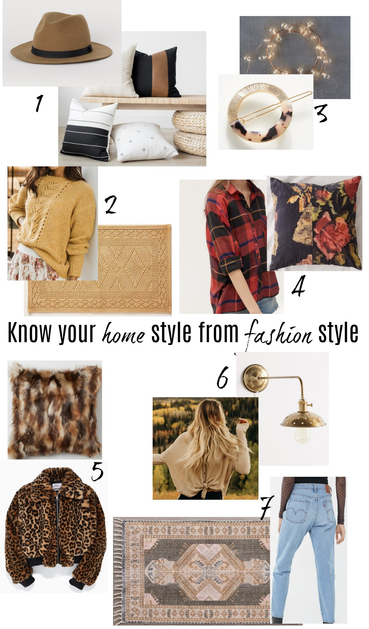 How to KNOW Your Home Style from your Fashion Style