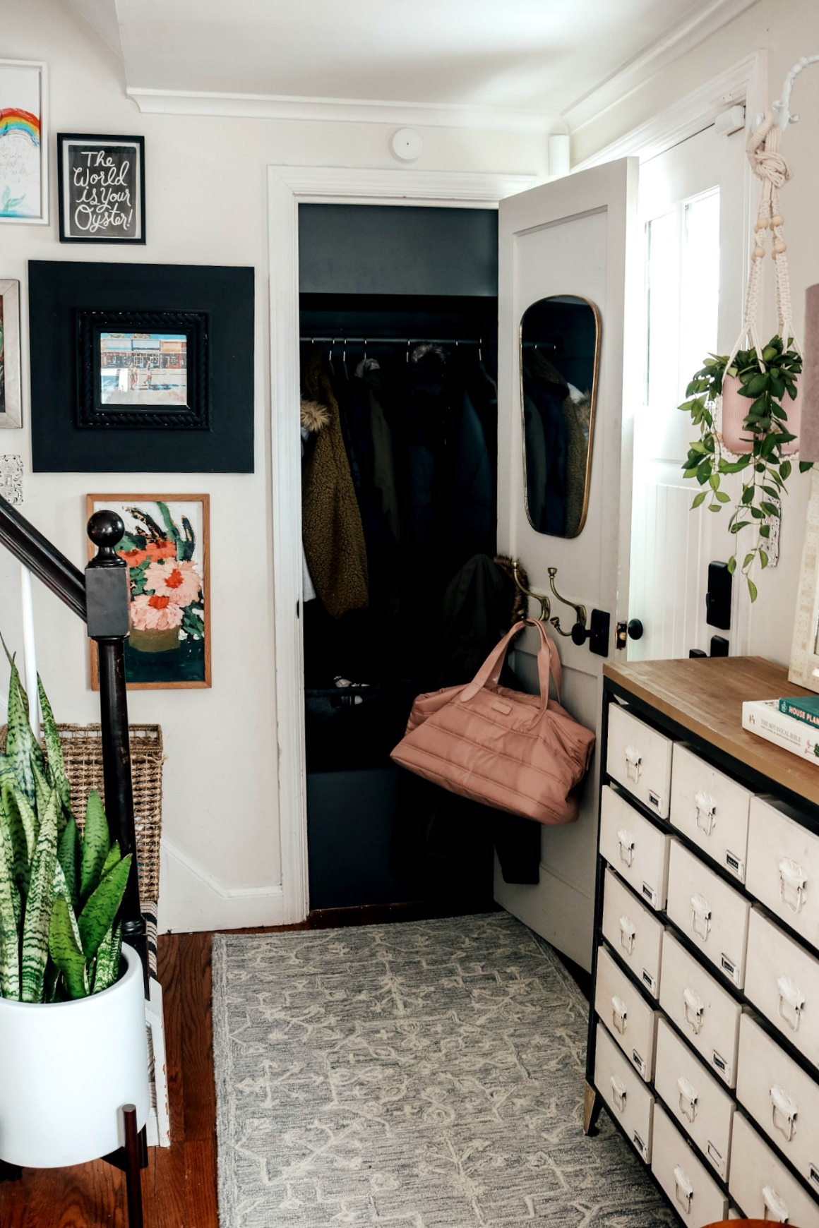 Entry and that Entry Closet, PLUS 10 Things I Bought at Walmart