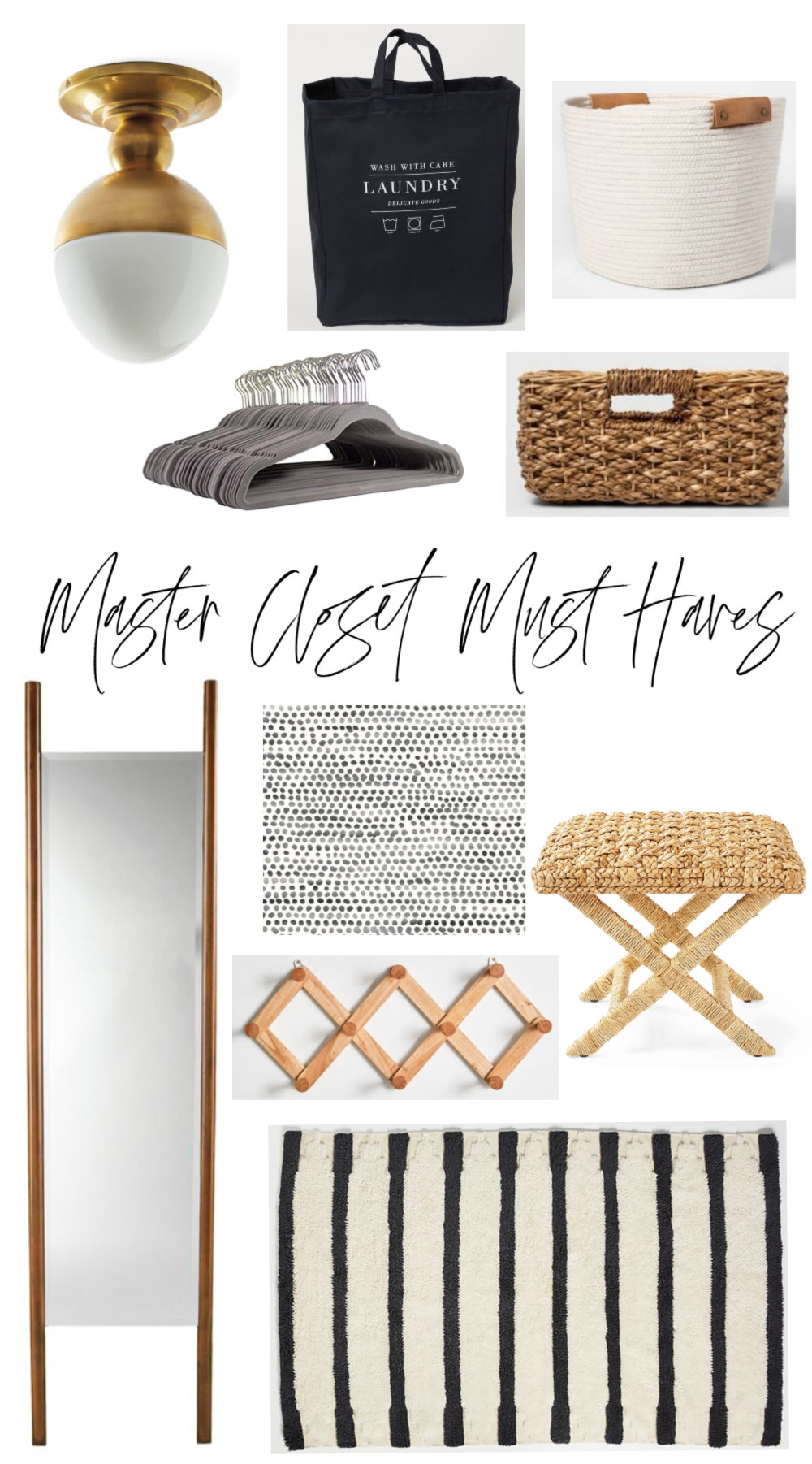 Master Closet Must Haves