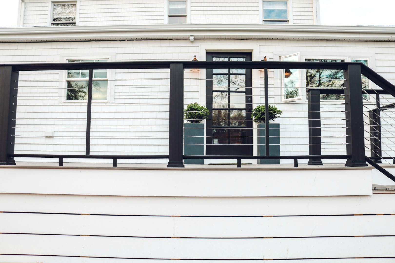Our new TimberTech Deck and Contemporary Rail