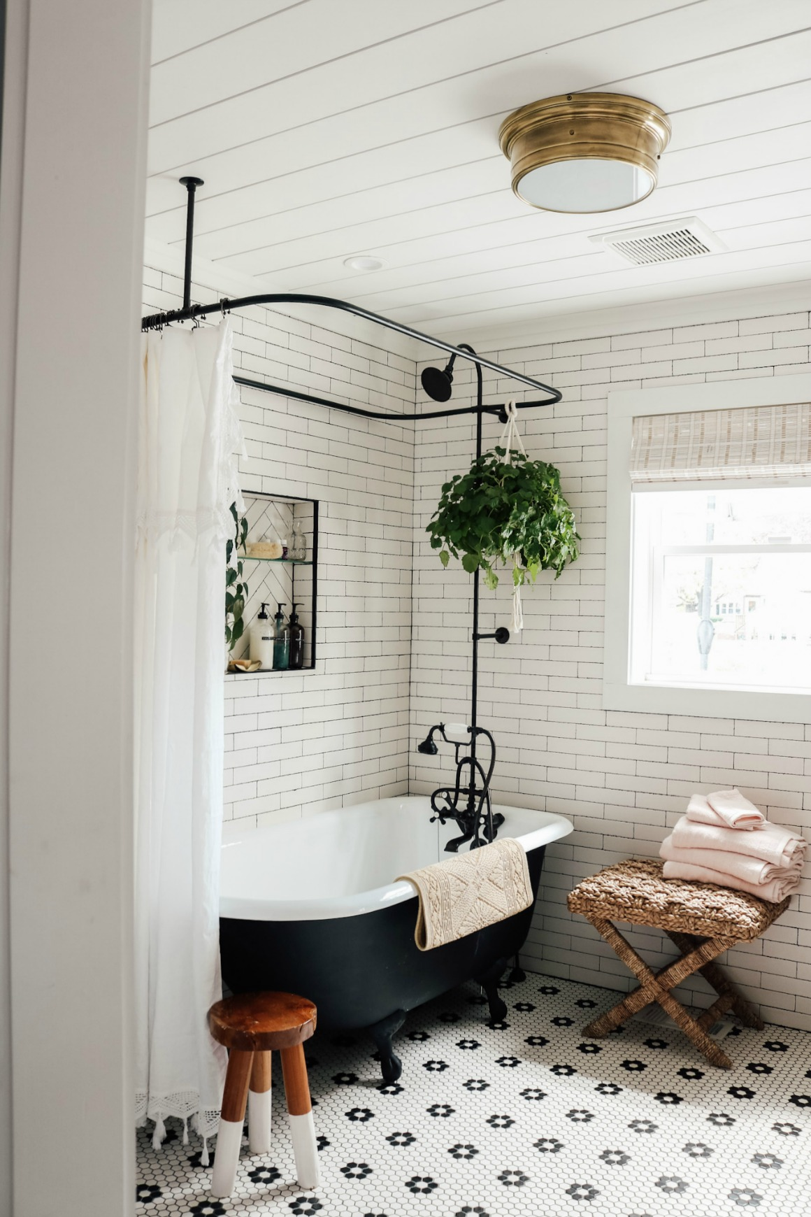 Master Bathroom Reveal with Claw Foot Tub