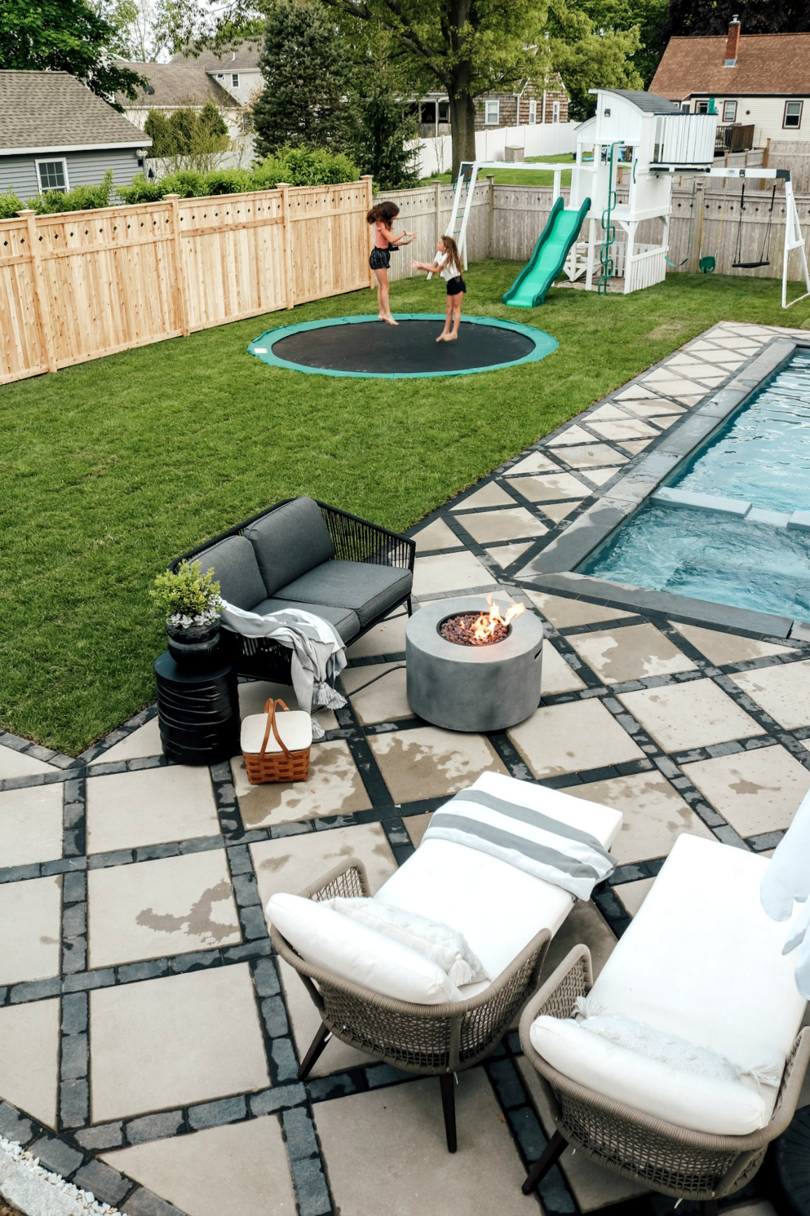 Our DIY In-ground Trampoline