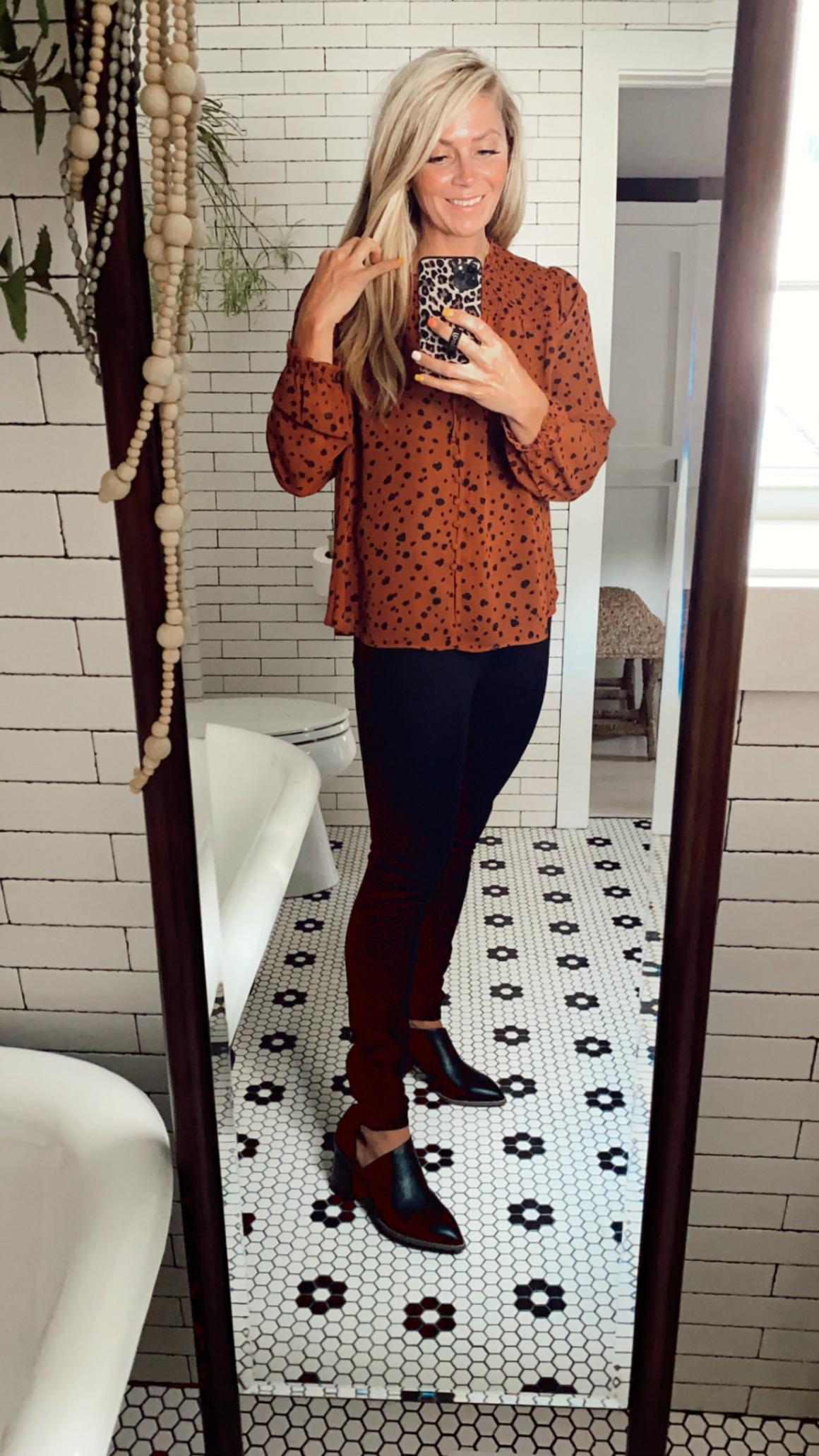 Affordable fall fashion- walmart clothes
