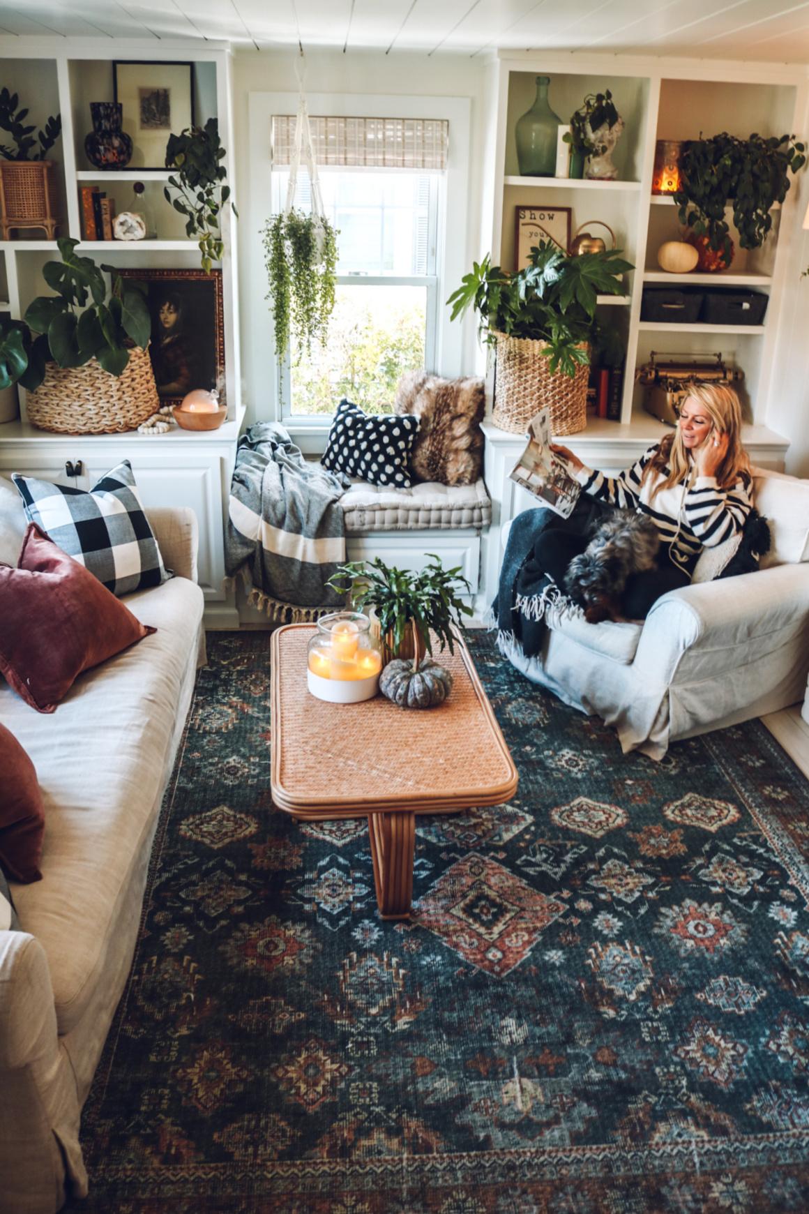 Fall living room decor idea-99