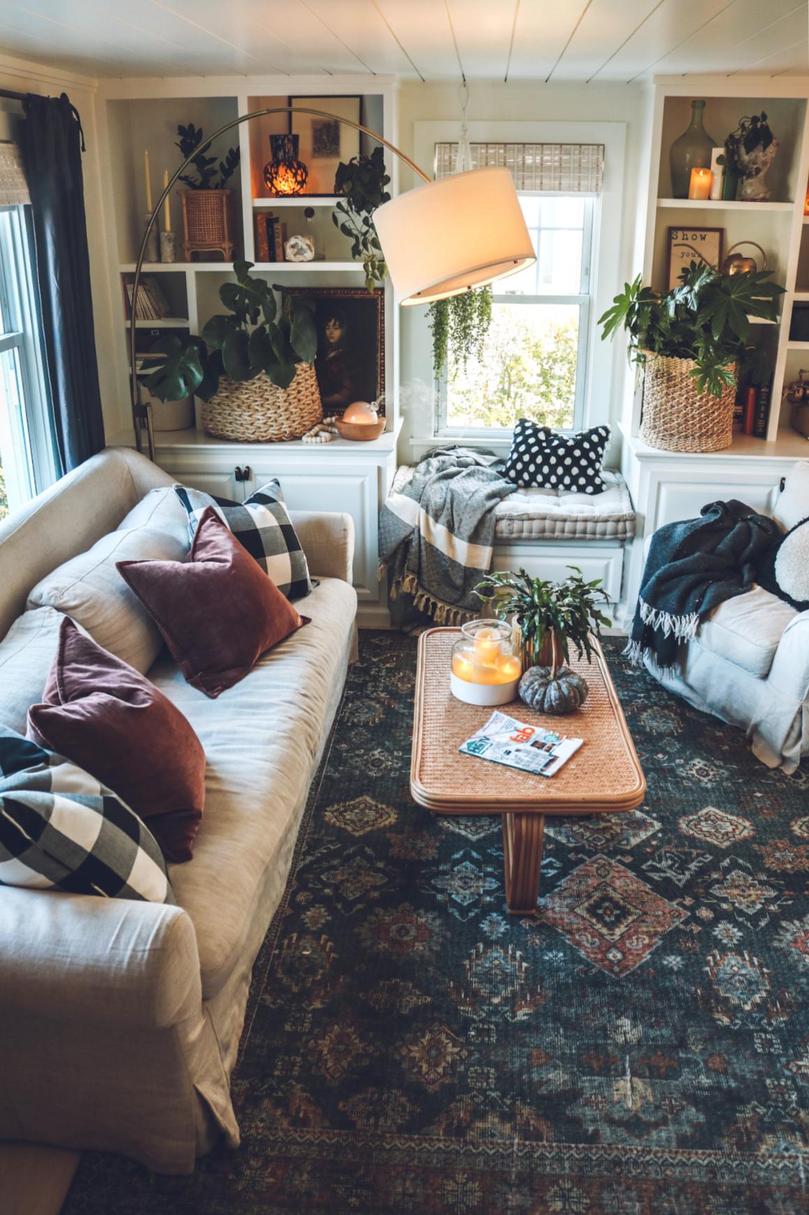 Fall living room decor ideas-6