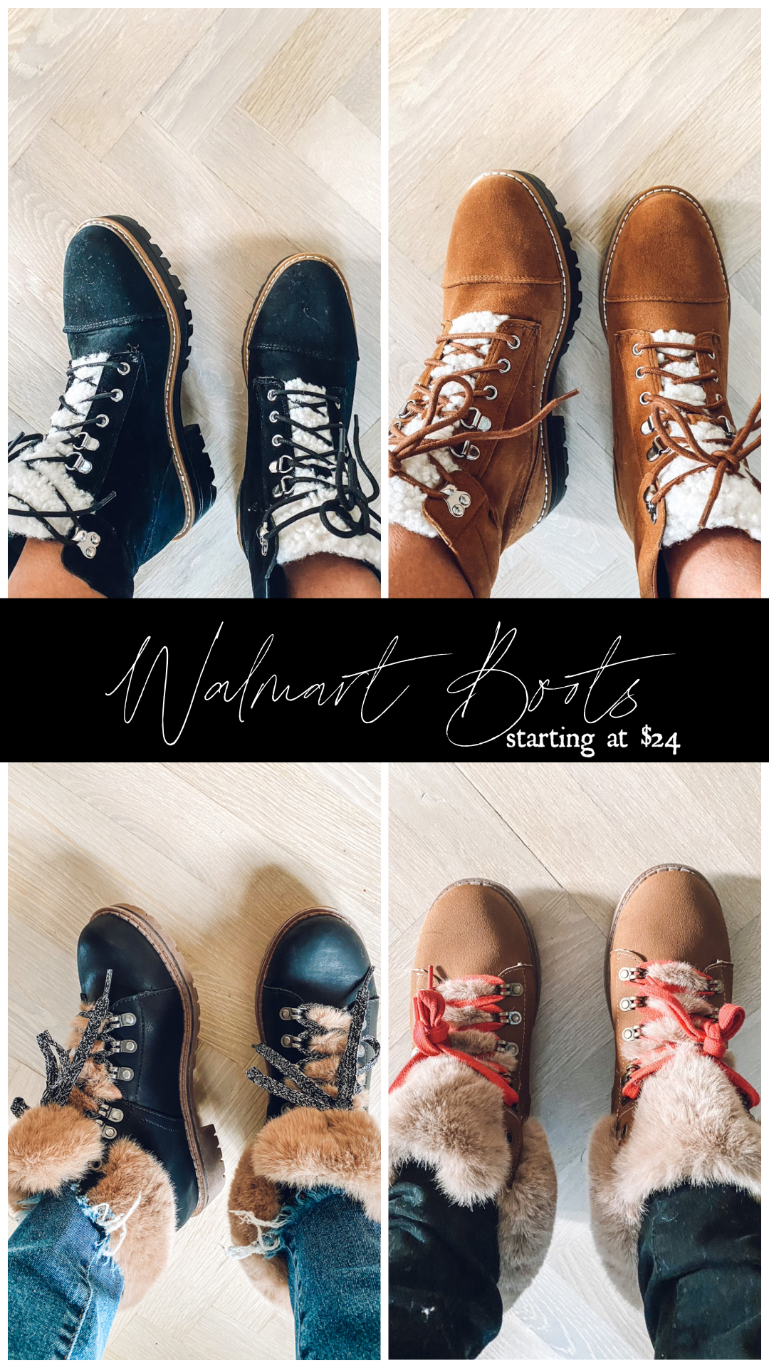 Walmart clothes- affordable fall clothes- affordable boots-