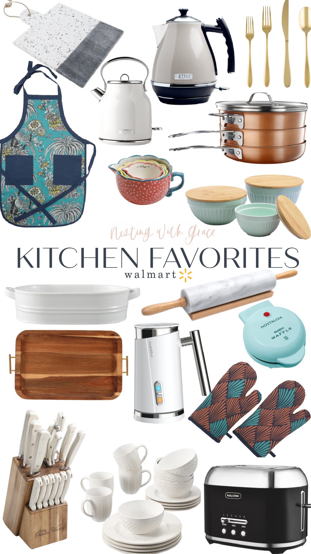 Round-up of Favorite Things from Walmart- Kitchen, Home and Fashion