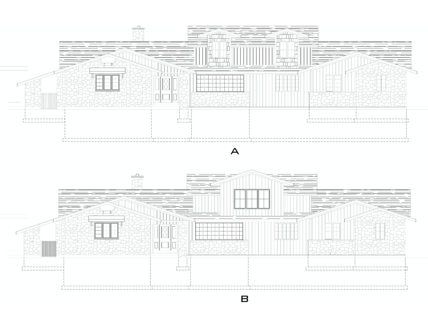 Exterior Ideas for our Ranch Home- Adding Second Floor