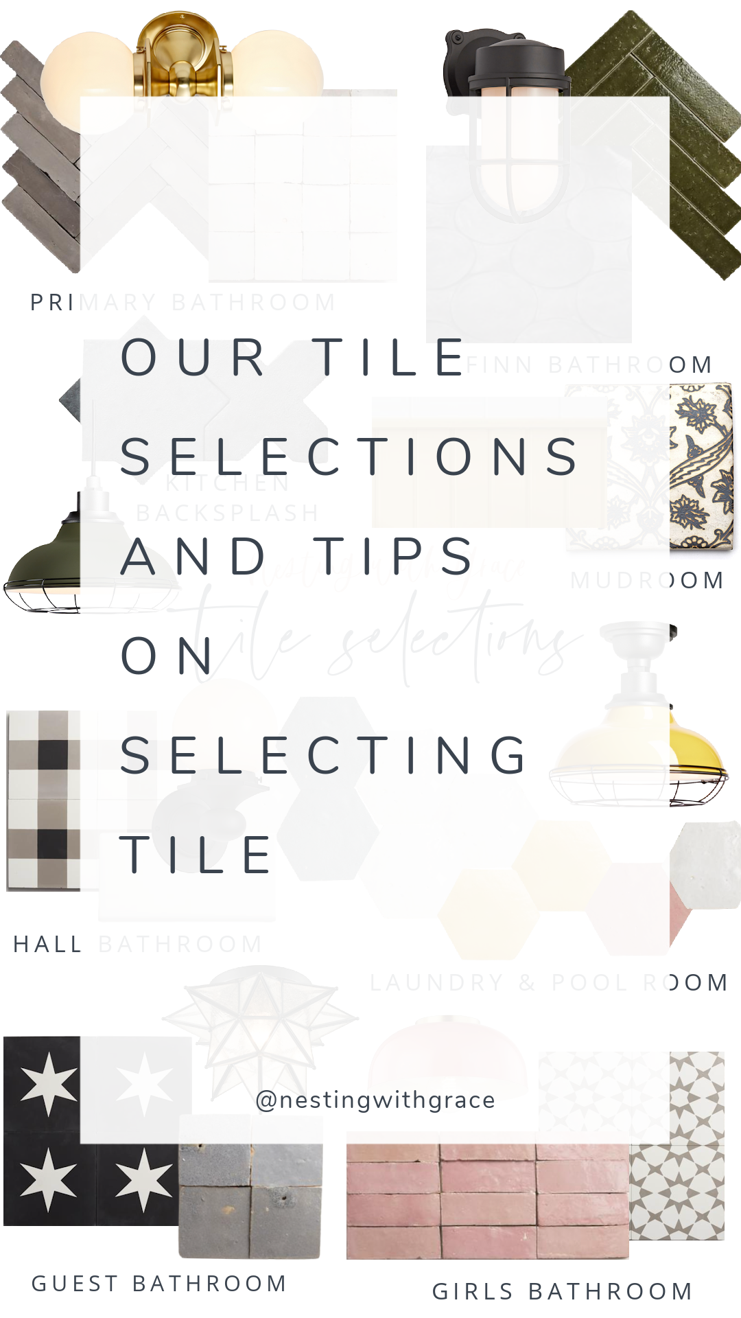 Tile Selections- How to Pick Tile- Where to Shop for Tile