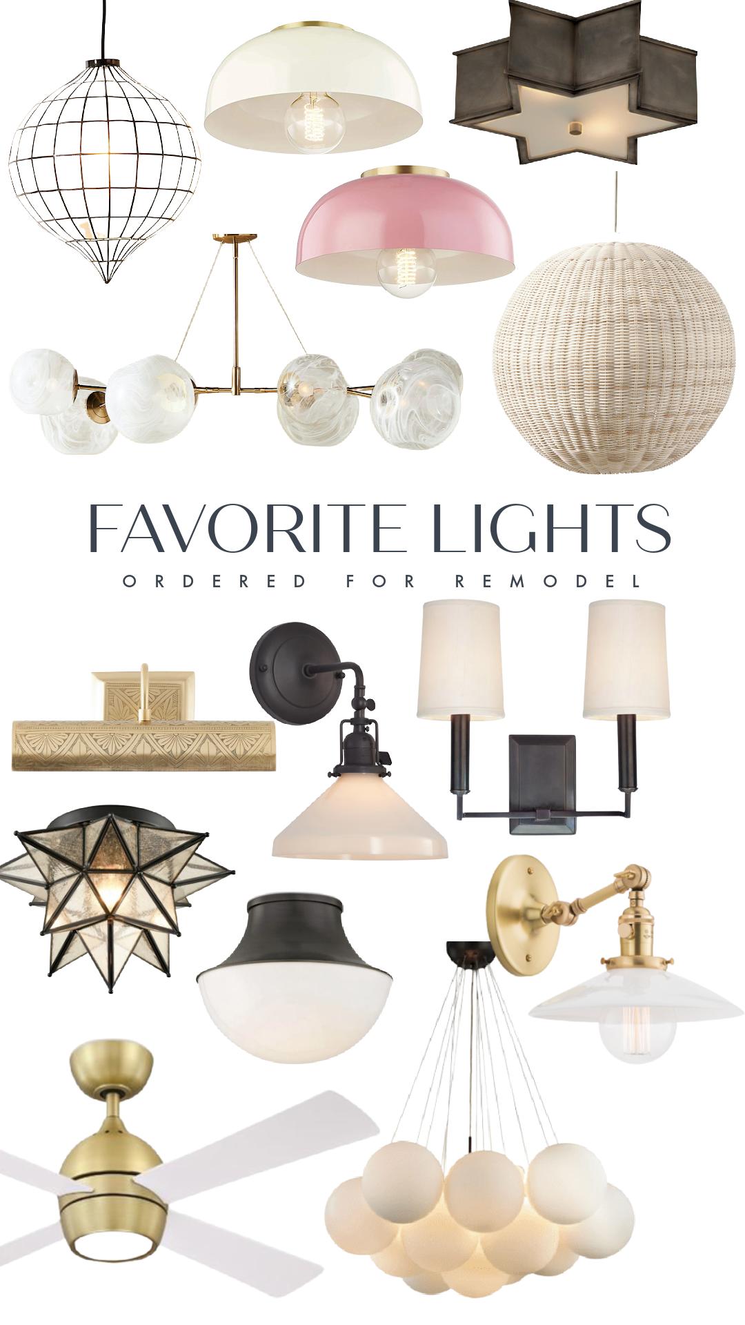 Favorite Light Fixtures