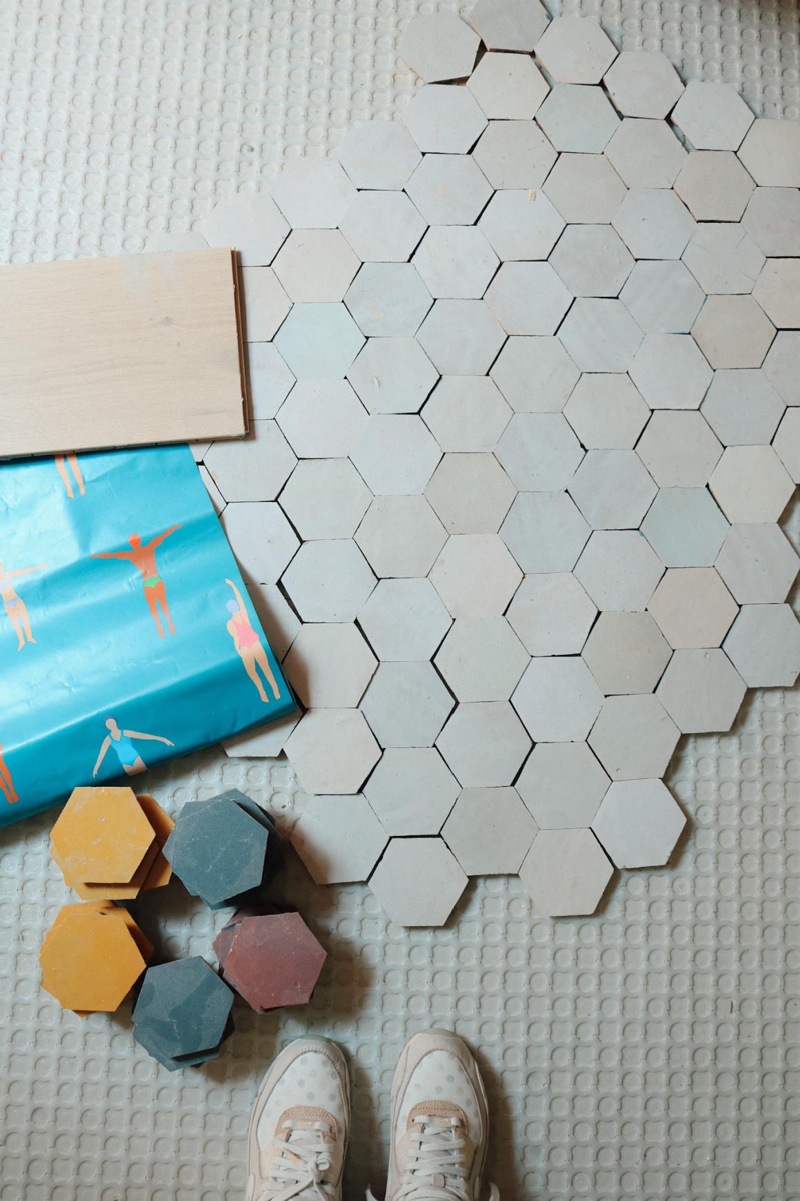 Our Tile! Help us Pick a Pattern terracotta tile Fun tile colorful tile