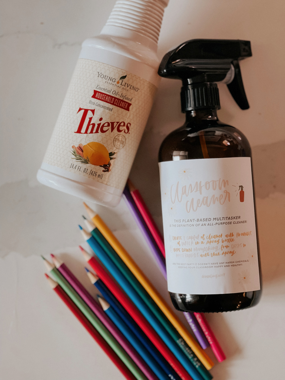 Back to School Teacher Gift Idea with Thieves